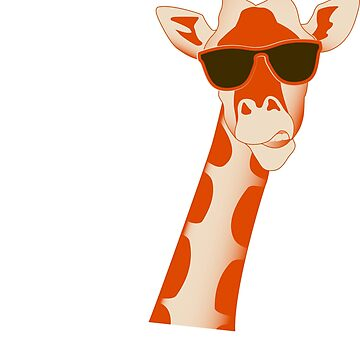 Moo I'm A Goat Funny Giraffe T-Shirt Gift by BCreative4U