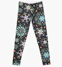 Snowflake Kaleidoscope Leggings