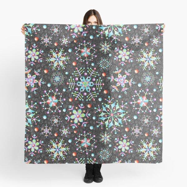 Snowflake Kaleidoscope Scarf