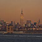 manhattan skyline by rafaj