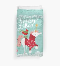Wishing You a Magical Holiday Season Duvet Cover