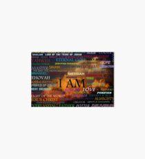 Names of God Art Board