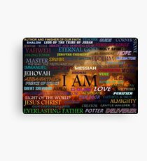 Names of God Canvas Print