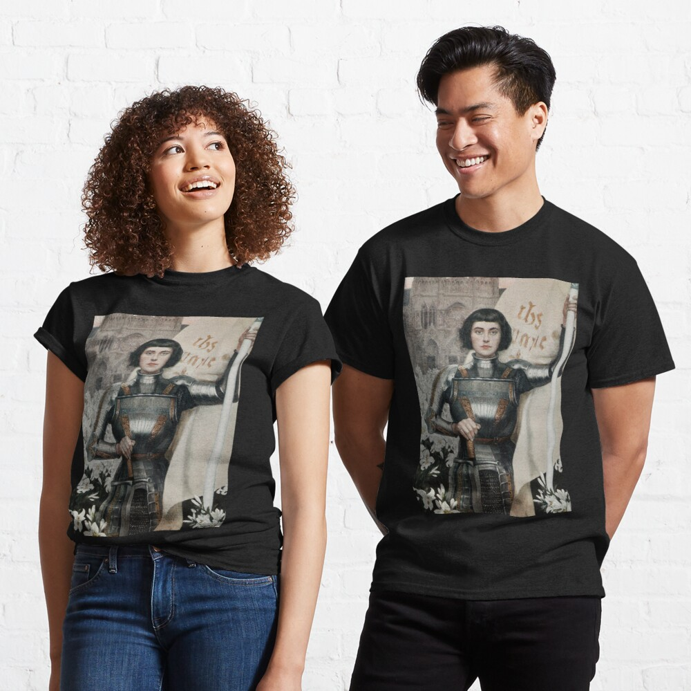 A 1903 engraving of Joan of Arc. Classic T-Shirt