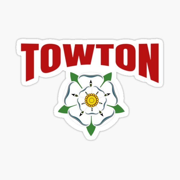 Towton - War of the Roses / York Rose design Sticker
