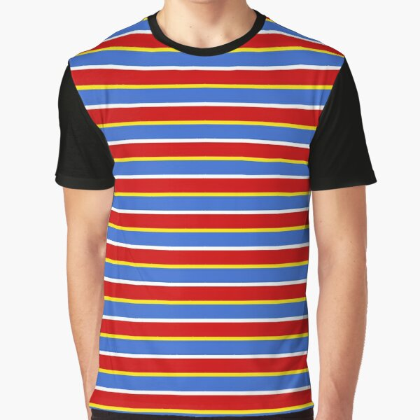 ernie stripes Graphic T-Shirt