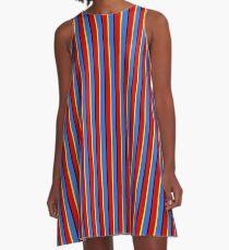 ernie stripes A-Line Dress