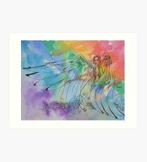 She's a Rainbow Two Art Print