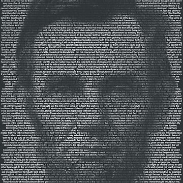 Abraham Lincoln Quote Portrait by qqqueiru
