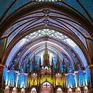 Notre Dame Montreal by John Velocci