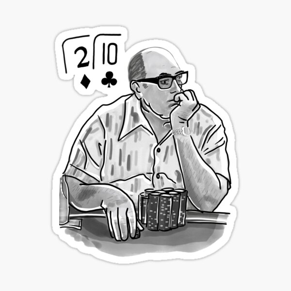 Doyle Brunson Poker Legend Sticker