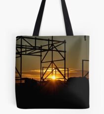 Industrial Sunset Tote Bag