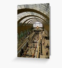 Musee D'Orsay Greeting Card