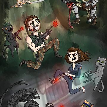 Predator vs Alien by MoonDropKingdom