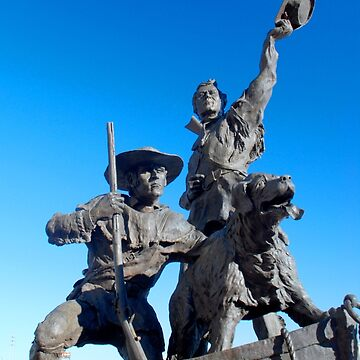 Lewis and Clark sculpture by RichardGibb