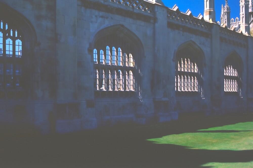 A Glimpse of King's College Chapel, Cambridge by Priscilla Turner