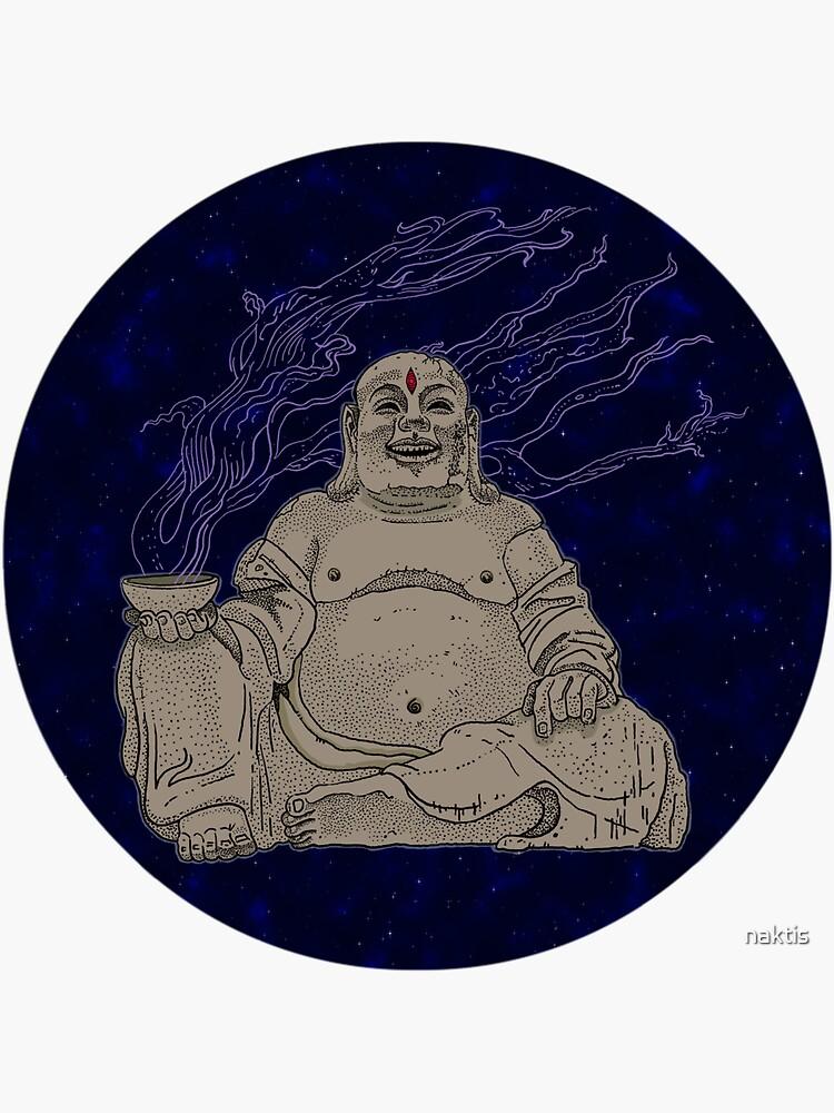 Alien Buddha by naktis