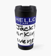 """Fight Club- """"I AM JACK'S SMIRKING REVENGE"""" Travel Mug"""
