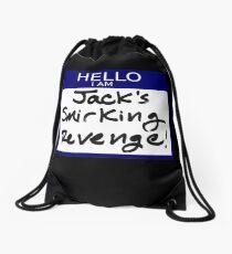 "Fight Club- ""I AM JACK'S SMIRKING REVENGE"" Drawstring Bag"