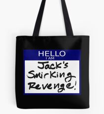 "Fight Club- ""I AM JACK'S SMIRKING REVENGE"" Tote Bag"