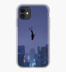 Miles Falling 2 iPhone Case