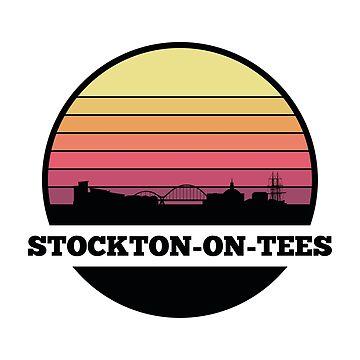 Stockton-on-Tees Skyline (England) by SvenHorn