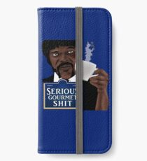 Serious Gourmet Shit iPhone Wallet/Case/Skin