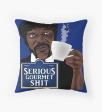Serious Gourmet Shit Throw Pillow