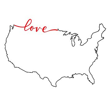 Home Sweet Home - United States of America LOVE by indicap