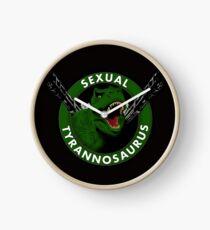 Sexual Tyrannosaurus Clock