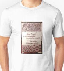 Best friend is a lifelong gift Unisex T-Shirt