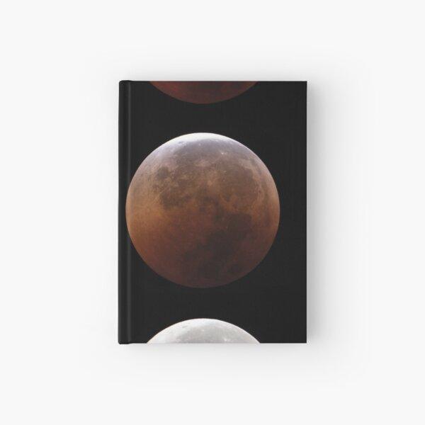 Super blood moon Hardcover Journal