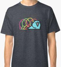 Partei-Papagei - Slack Emoticon-Papageien-Art Classic T-Shirt