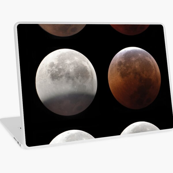 Super blood moon Laptop Skin