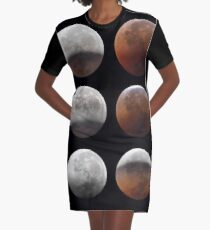 Supermond T-Shirt Kleid
