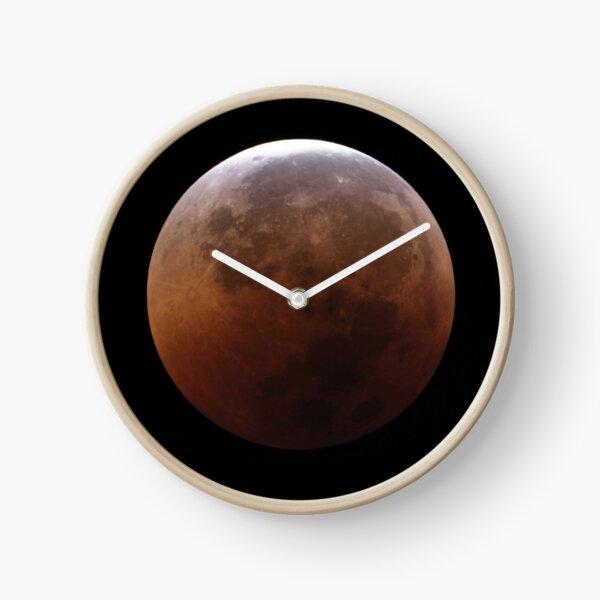 Super blood moon Clock