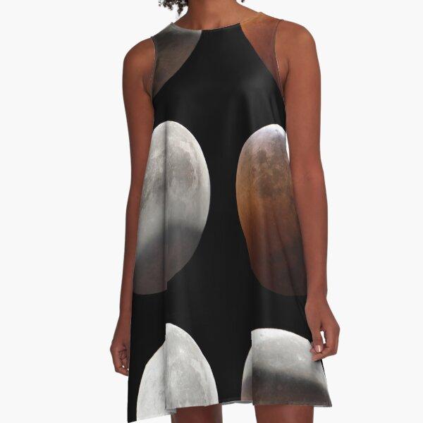 Supermond A-Linien Kleid