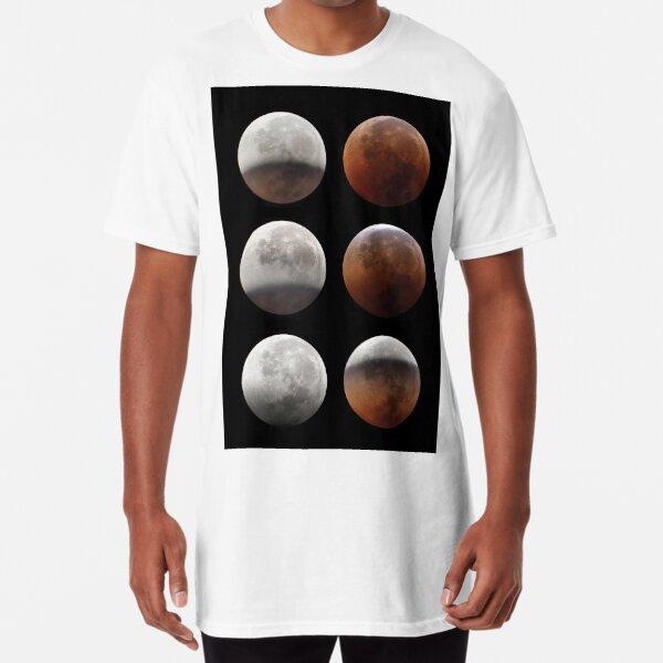 Super blood moon Long T-Shirt