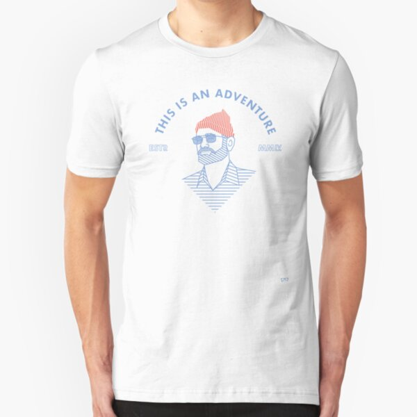 THIS IS AN ADVENTURE - SUMMER SHADES Slim Fit T-Shirt