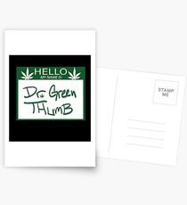 Dr. Green Thumb Postcards