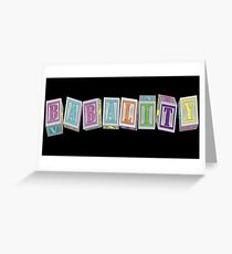 Babality! Greeting Card