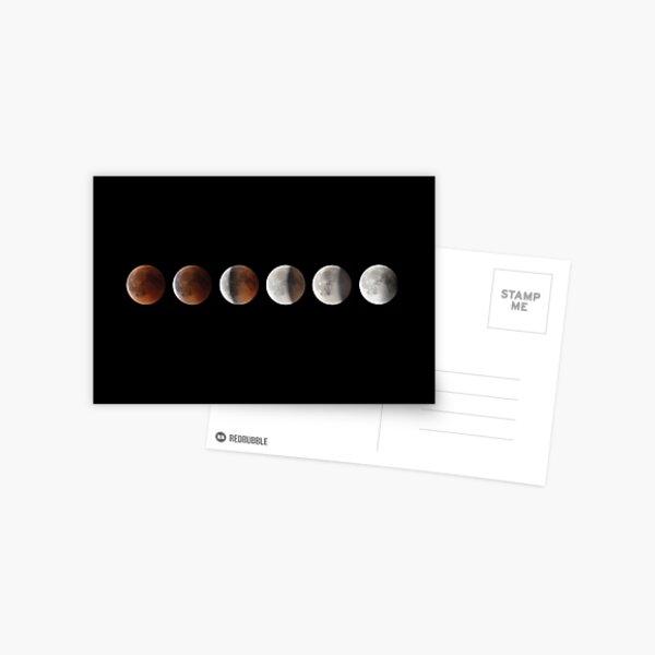 Super blood moon Postcard