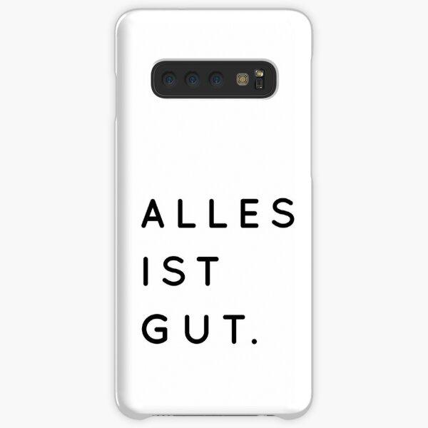 Alles ist Gut | Typography Minimalist Version Samsung Galaxy Snap Case