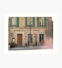 Provence in Spring Art Print