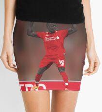 Sadio Mane Celebrates - Liverpool FC Mini Skirt