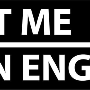 trust me, i'm an engineer by -KRAFTWERK