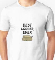 Logger Best Ever Funny Gift Idea Unisex T-Shirt