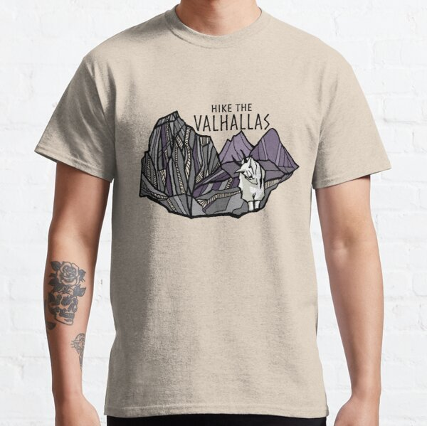 Hike the Valhallas Classic T-Shirt
