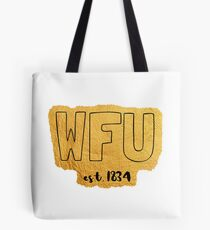 Wake Forest University est. 1834 Tote Bag