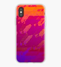 Fuchsia Abstract iPhone Case